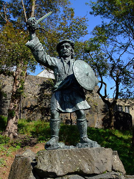 rob roy statue stirling